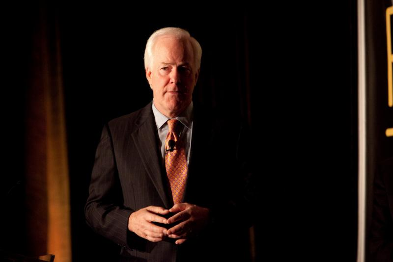 Sen. John Cornyn, speaking at a Texas Tribune conference in 2011.