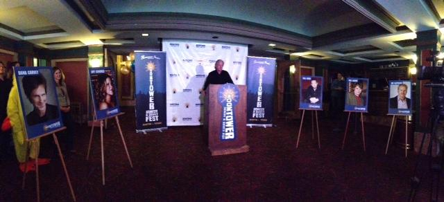 Jim Ritts, Executive Director of Austin Theatre Alliance, announces the headliners.