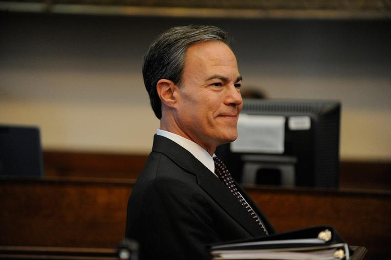 Speaker Joe Straus during the seconding speeches for the 83rd Legislative session Speaker's Race.