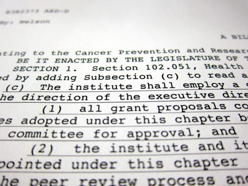 Sen. Jane Nelson's Senate Bill 149 was officially filed Monday.