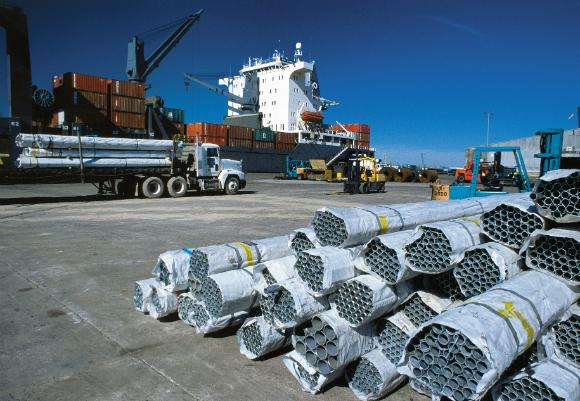 A U.S.-European trade agreement could increase imports and exports.