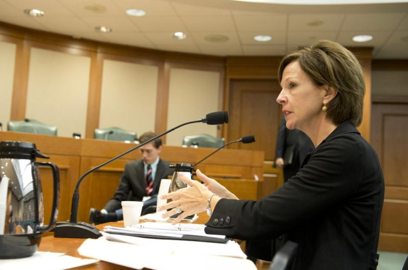 SBOE's Barbara Cargill at Senate panel