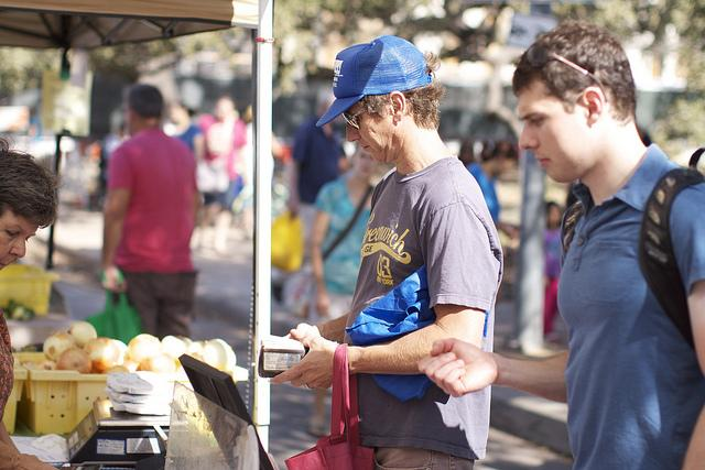 Vendors at the Austin Farmers Market could see lower permitting fees.