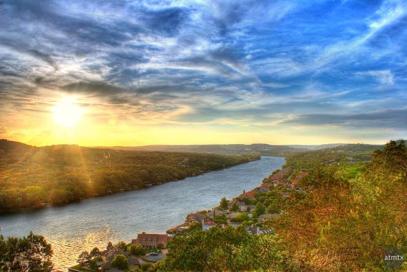 Relax: No change is being proposed to Mount Bonnell's view.