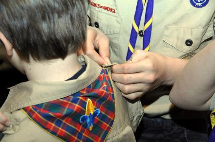 The Boy Scouts of Amercia, one of the largest private youth organizations in the U.S., has prohibited  gays from joining.