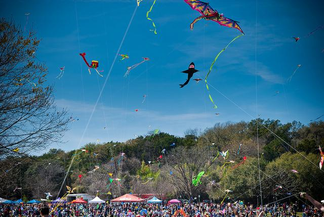 The 85th annual Zilker Kite Festival happens this Sunday.
