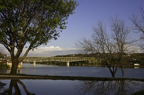 Old Hwy 281 Bridge at Lake Marble Falls