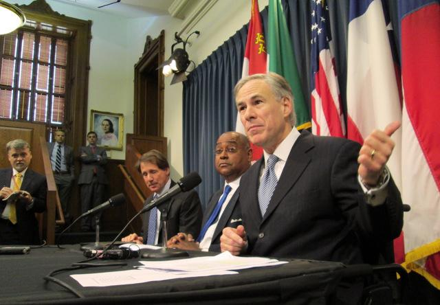 Attorney General Greg Abbott lists DNA protections as a top priority for his campaign.