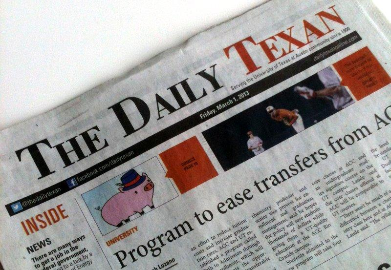The Texas Student Media board voted to keep The Daily Texan a daily print publication
