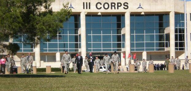 III Corps Headquarters at Fort Hood