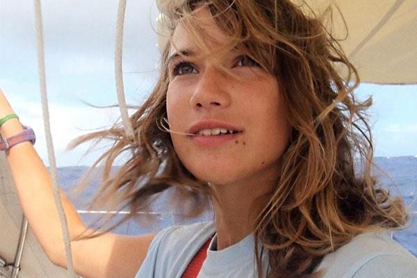 Laura Dekker set out to sail around the world at the age of 14.