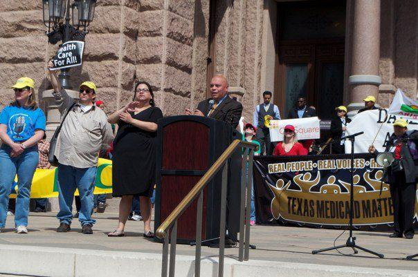 Austin City Council Member Mike Martinez was one of the lawmakers speaking in support of Medicaid expansion today.