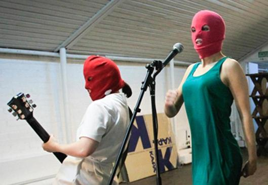 The trial of Russian art punks Pussy Riot ended with two members of the collective imprisoned, drawing the attention of artists around the globe.