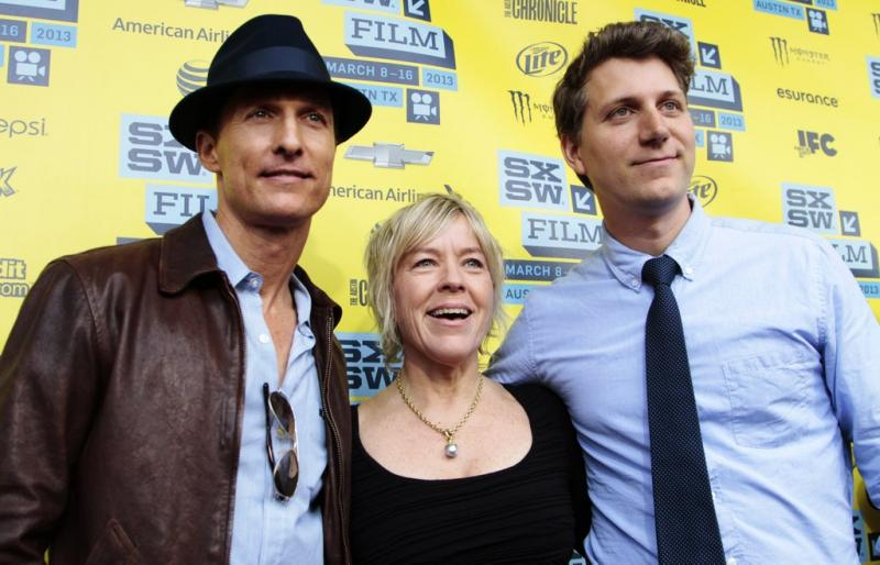 "Matthew McConaughey, ""Mud"" Producer Sarah Green and Jeff Nichols"