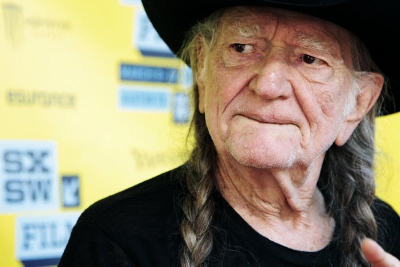 "Willie Nelson from ""When Angels Sing."""
