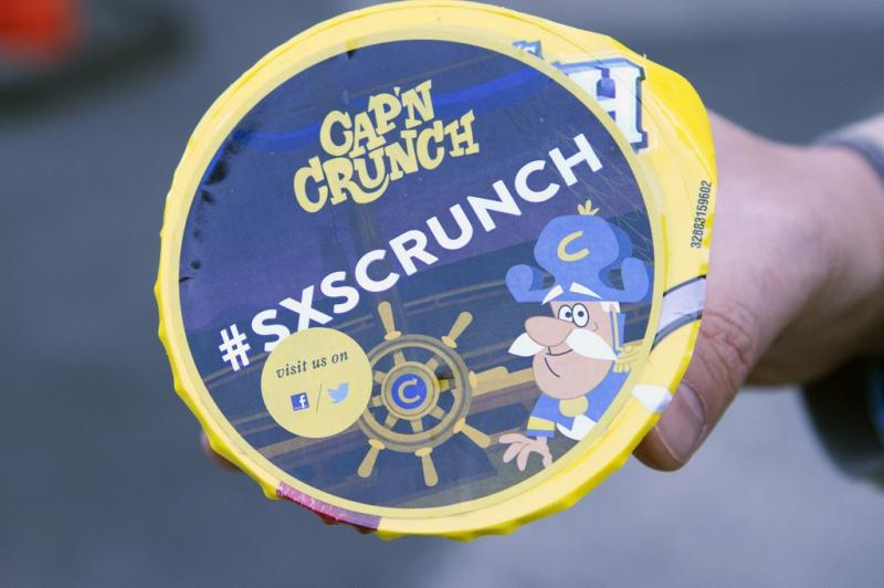 South by South Crunch: Even cereal companies are looking to take a bite out of SXSW Interactive.