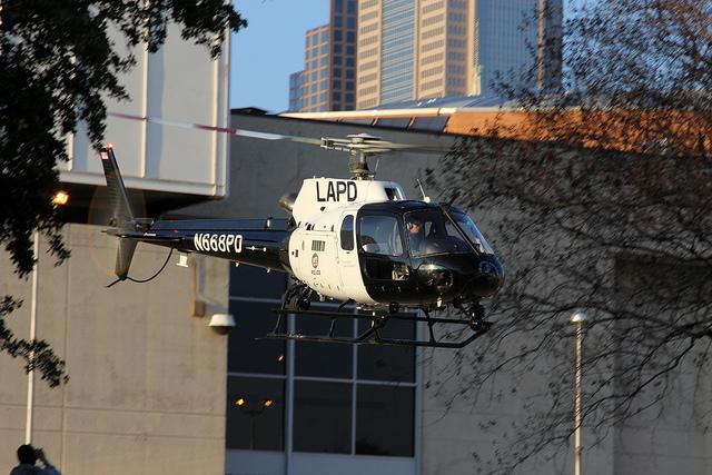 LAPD uses a similar version of the American Eurocopter A350.
