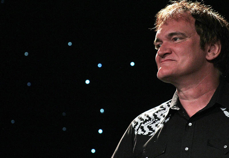 "Quentin Tarantino presented  ""Dazed and Confused"" with the Star of Texas Award."