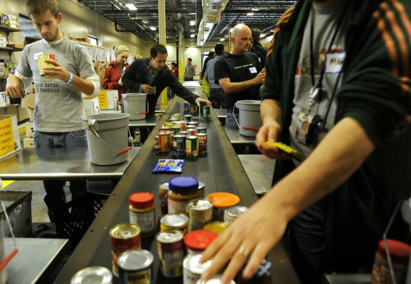 The Capital Area Food Bank is one of over 300 non-profits participating in Amplify Austin.