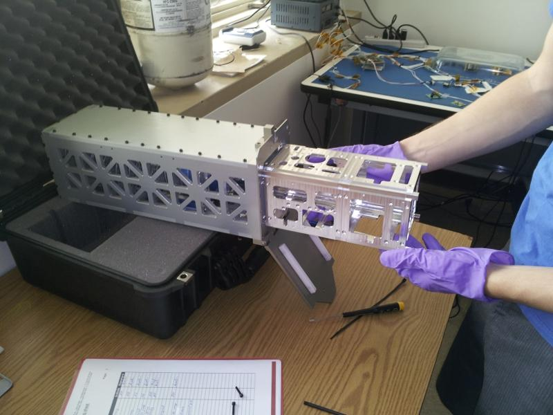 The Armadillo satellite from UT's Satellite Design Lab will examine space dust in Earth orbit.