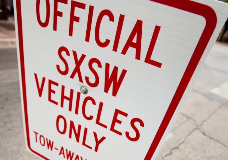 Parking, towing, dropped signals and lost friends sully any SXSW.