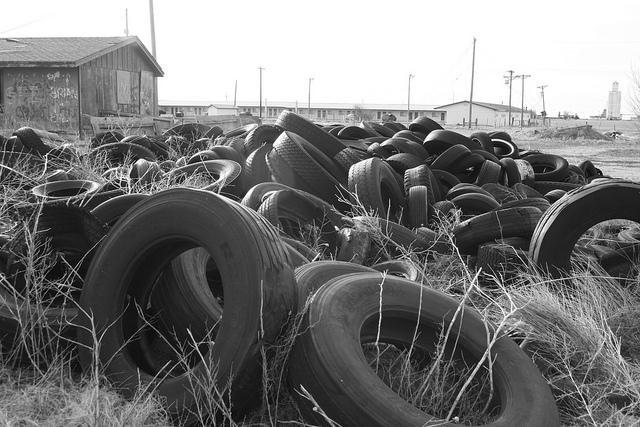 Tires are getting dumped illegally all over Texas, and the Legislature is considering action.
