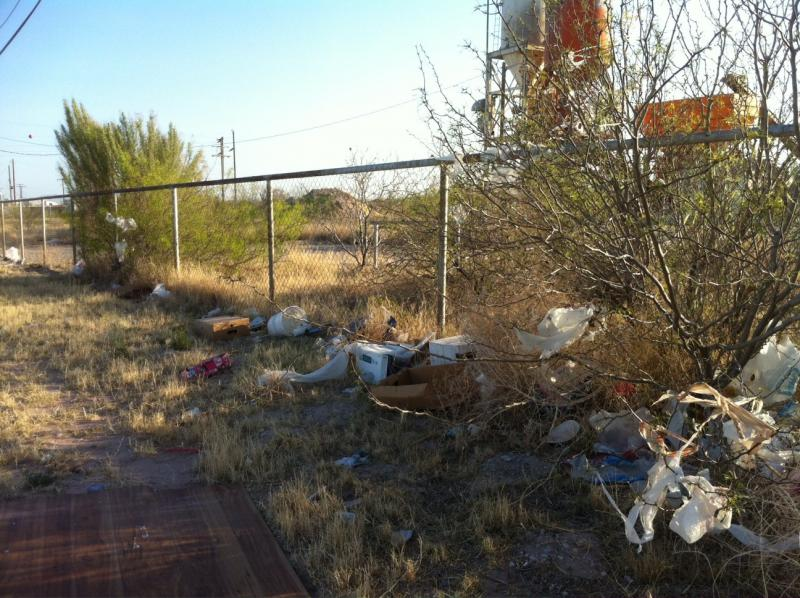 Groups like one in Crane, TX plan to get out this weekend for the 'Texas Trash Off.'