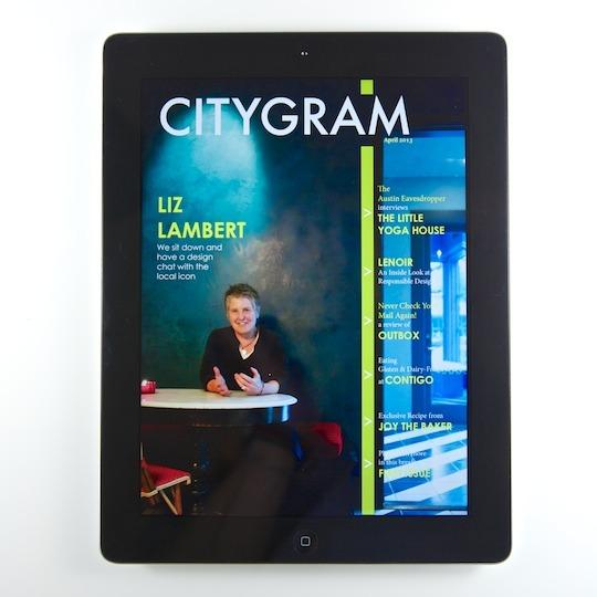 Citygram is a monthly digital magazine made by Austin writers, artists and designers.