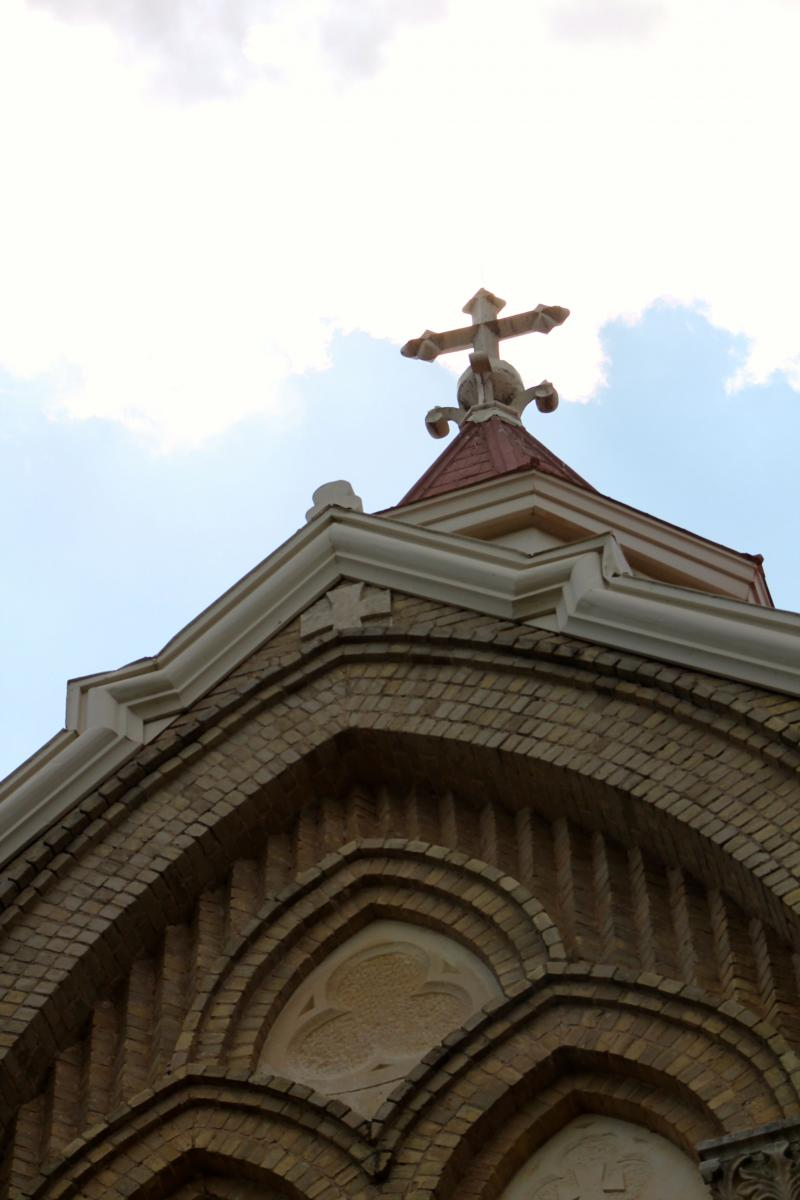 Saint Edward's University is seeking help in renovating the facade of Holy Cross Hall.