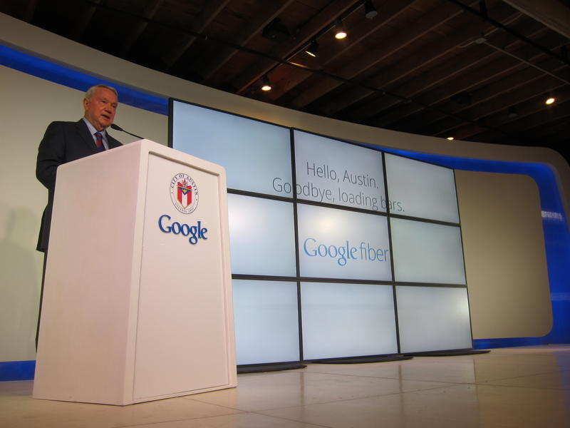 Austin Mayor Lee Leffingwell made the official announcement this morning.