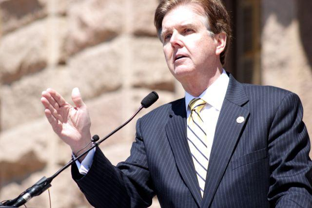 Sen. Dan Patrick, who wrote SB 23. It now heads to the full Senate for a possible floor debate.