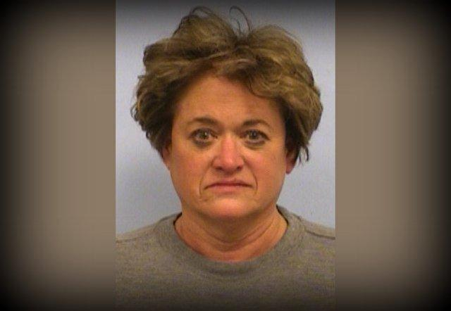 The booking photo for Travis County D.A. Rosemary Lehmberg.