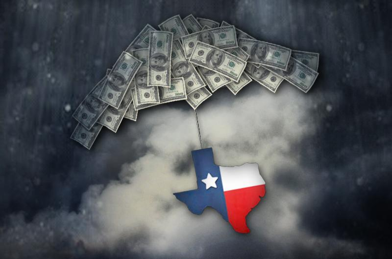 When to use Texas cash reserves and how much?