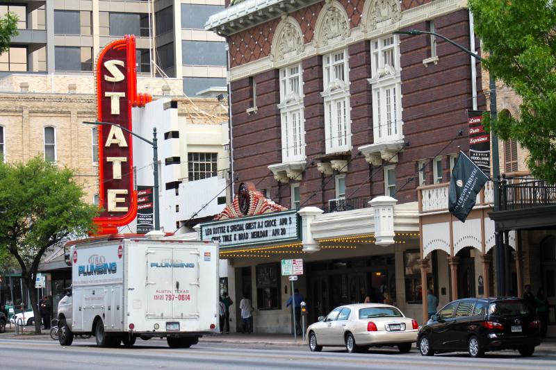 Both The State Theatre and The Paramount Theatre could receive the highest amount possible from the Austin Convention and Visitors Board.