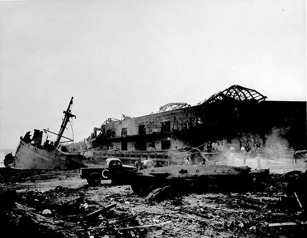 It is estimated that as many as 600 people died in the 1947 Texas City Disaster explosion.