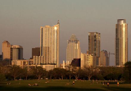 Austin has the second-largst percentage increase amoung top 100 biggest U.S. cities