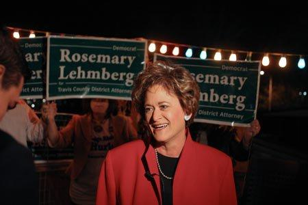 Lehmberg was arrested for drunk driving April 12.
