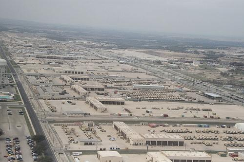 Fort Hood from above
