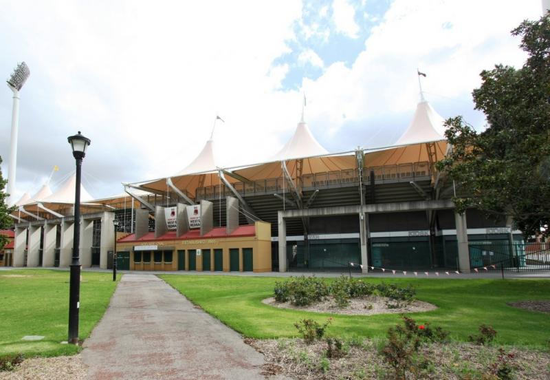 The Adelaide Oval in Adelaide, Austraila. The city renewed its sister city status with Austin this week.