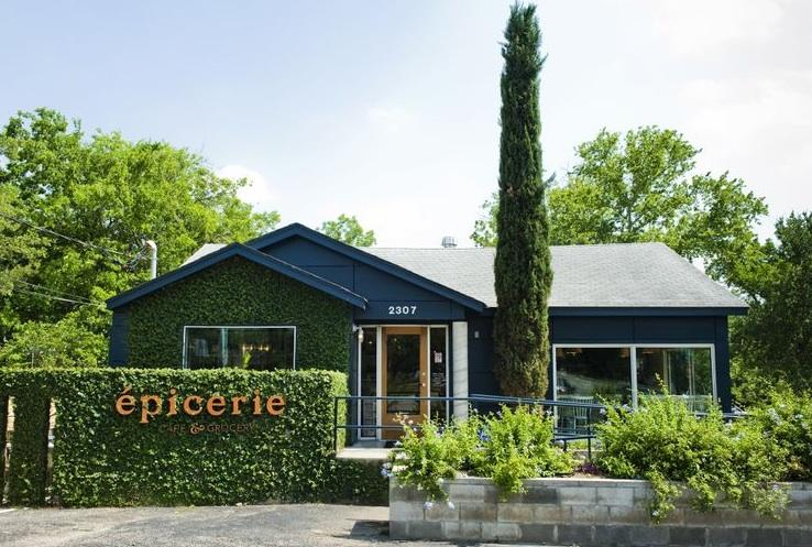 Épicerie recently opened in the Rosedale neighborhood off Burnet Road.