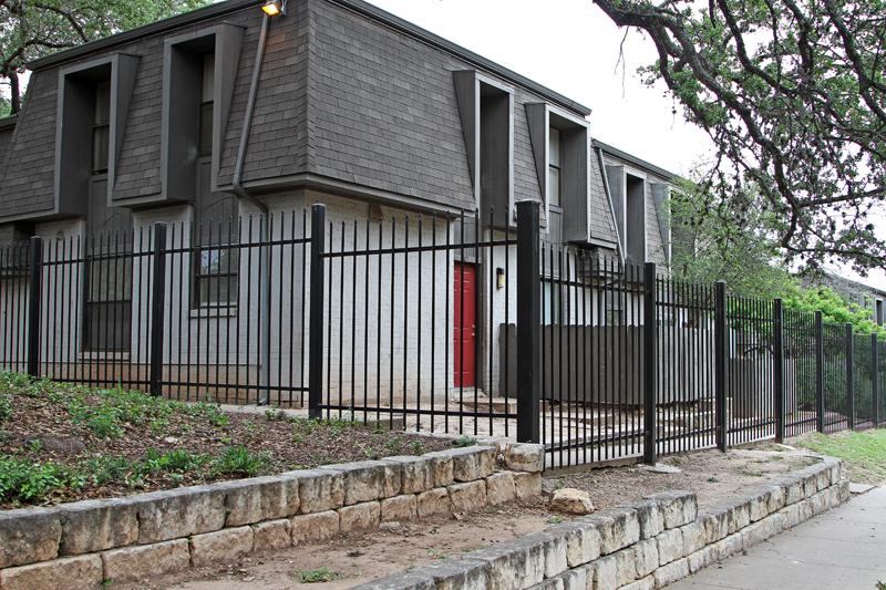 The Oak Creek Village apartments in South Austin.