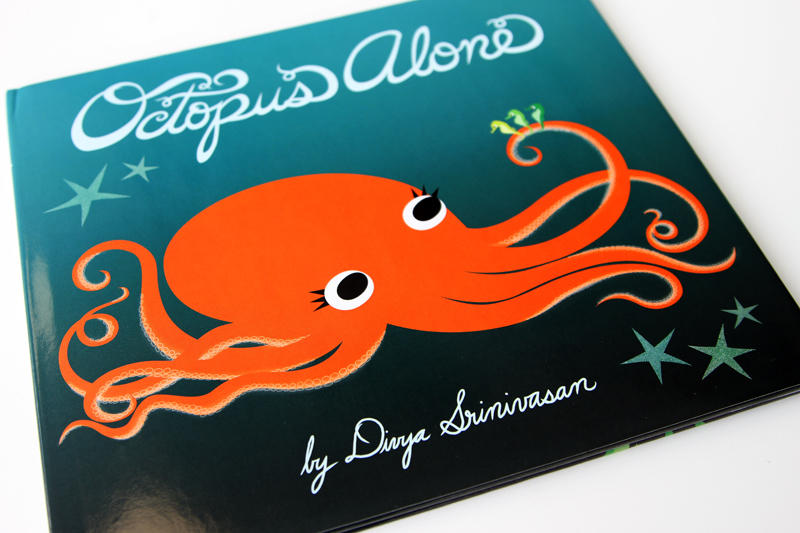 'Octopus Alone' is the second children's book from Austin illustrator Divya Srinivasan.
