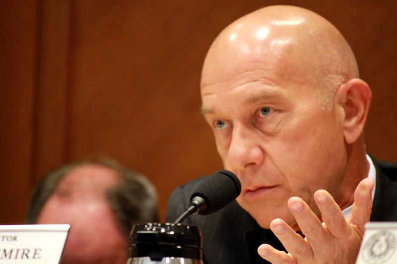 State Sen. John Whitmire, D-Houston, voted against a Texas House campus carry bill on May 14, 2013.
