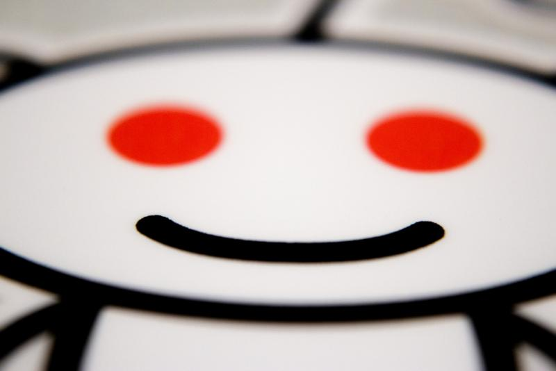The ubiquitous Reddit alien. Austin is one of the heaviest users of the social website.