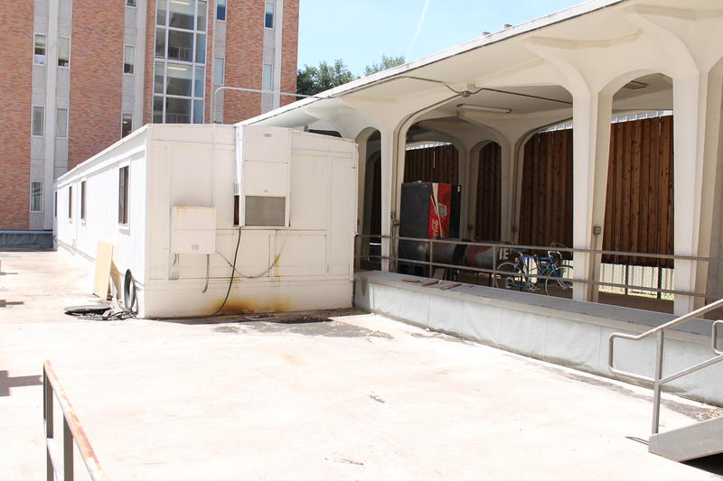 The RAS operates outside of a small trailer outside the electrical engineering building on UT Campus.
