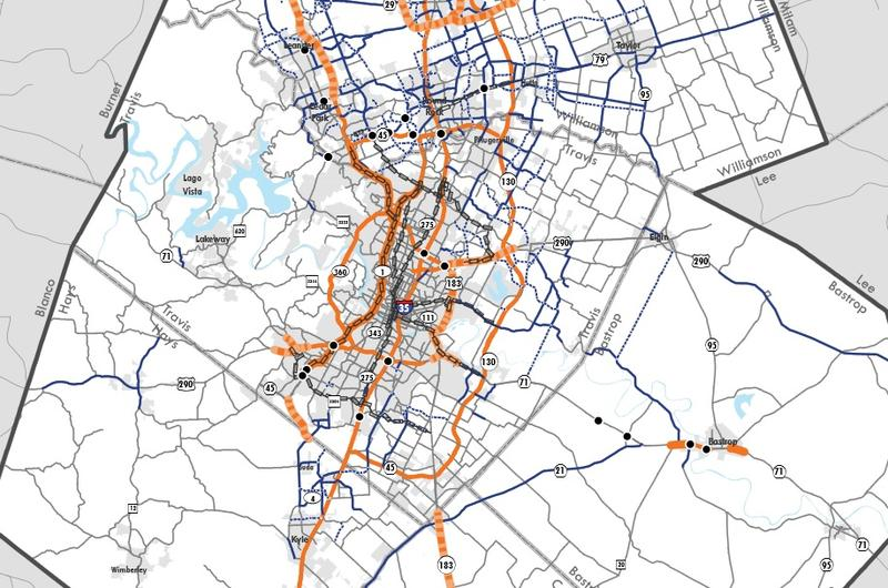 The Capital Are Metropolitan Planning Organization (CAMPO) is adjusting its 2035 plan.