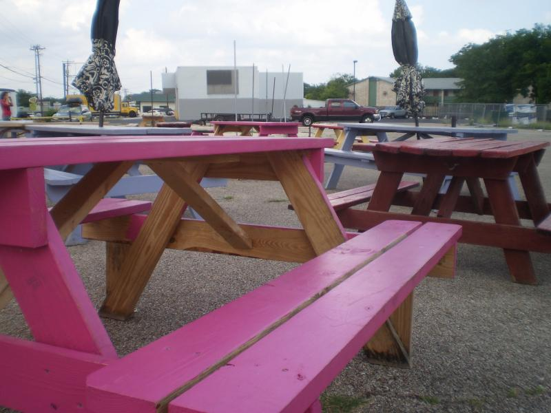 Trailer owners hope picnic tables will be filled with customers this weekend.