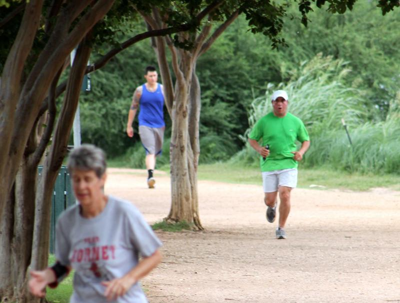 The city's 24-hour hike and bike trail pilot program begins Saturday.