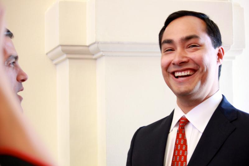 U.S. Rep. Joaquin Castro, D-San Antonio, visited the Texas House on May 27, 2013.