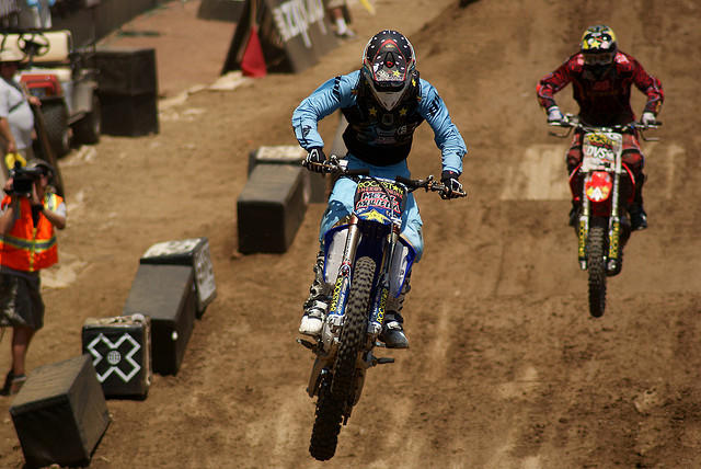 Motocross jumping could become a familiar sight at the Circuit of the Americas, if Austin secures a three year X Games contract.